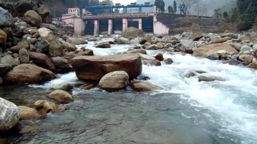 Bindu River in Dooars