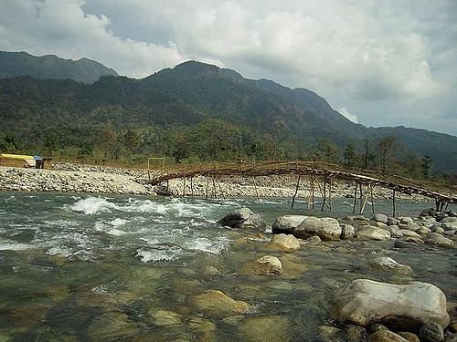 Raydaak River at Bhutan Ghaat