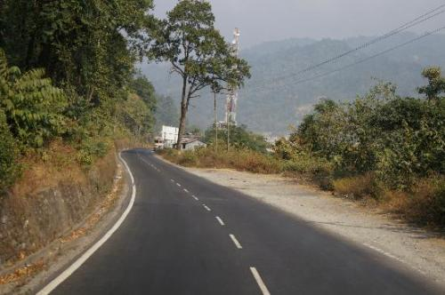Road to Chalsa, West Bengal